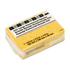 Commercial Cellulose Sponge, Yellow, 4 1/4 x 6 MMMC31