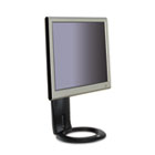 Easy-Adjust LCD Monitor Stand, 8 1/2 x 5 1/2 x 16, Black MMMMS110MB