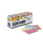Blank Flash Card Dispenser Boxes, 2w x 3h, Assorted, 1000/Pack PAC74170