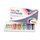 Oil Pastel Set With Carrying Case,16-Color Set, Assorted, 16/Set PENPHN16