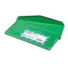 Colored Envelope, Traditional, #10, Green, 25/Pack QUA11135