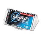 Industrial PLUS Alkaline Batteries, AAA, 8/Pack RAYALAAA