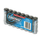 Industrial PLUS Alkaline Batteries, AA, 8/Pack RAYALAA