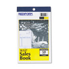 Sales Book, 4 1/4 x 6 3/8, Carbonless Duplicate, 50 Sets/Book RED5L527