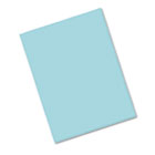 Riverside Construction Paper, 76 lbs., 9 x 12, Blue-Green, 50 Sheets/Pack PAC103602