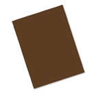 Riverside Construction Paper, 76 lbs., 9 x 12, Dark Brown, 50 Sheets/Pack PAC103606