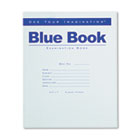 Exam Blue Book, Wide Rule, 8-1/2 x 7, White, 8 Sheets/16 Pages ROA77512