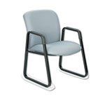 Uber Series Big & Tall Sled Base Guest Chair, Gray SAF3492GR