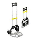 Stow & Go Cart, 110lb Capacity, 15 1/4w x 16d x 39h, Aluminum SAF4049