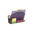 Onyx Magnetic Mesh File Pocket with Accessory Organizer SAF4180BL