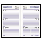 "Recycled Weekly Planner, Black, 3 1/2"" x 6 3/16"", 2015 AAGSK4800"