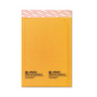 Jiffylite Self-Seal Mailer, Side Seam, #0, 6 x 10, Golden Brown, 10/Pack SEL16070