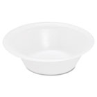 Basix Foam Bowl, 12oz, White, 125/Pack, 8 Packs/Carton SLOFSFB12
