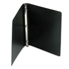 "ACCOHIDE Poly Ring Binder With 23-Pt. Cover, 1/2"" Capacity, Black ACC39701"