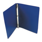 "ACCOHIDE Poly Ring Binder With 23-Pt. Cover, 1/2"" Capacity, Dark Royal Blue ACC39702"