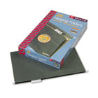 Hanging Folders, Legal Size, 1/5 Tab, 11 Pt. Stock, Green, 25/Box SMD64155