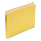 1 3/4 Inch Accordion Expansion Colored File Pocket, Straight Tab, Letter, Yellow SMD73223