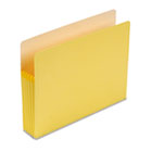5 1/4 Inch Accordion Expansion Colored File Pocket, Straight Tab, Letter, Yellow SMD73243