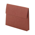 Two Inch Accordion Expansion Wallet with Velcro, Letter, Redrope SMD77142