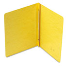 Side Opening PressGuard Report Cover, Prong Fastener, Letter, Yellow SMD81852