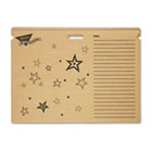 File 'n Save System Chart Storage Folder, 30-1/2 x 22-1/2, Bright Stars Design TEPT1023