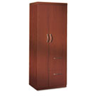 Aberdeen Series Personal Storage Tower, Box 1 Of 2, 24w x 24d x 68-3/4h, Cherry MLNAPST1LCR