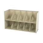 Add-A-Stack Shelving System 2-Shelf Filing Tier, 36w x 13-3/16d x 10h, Sand TNNAS36LSD