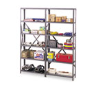 "Industrial Post Kit, for 36"" & 48"" Wide Shelves, Medium Gray TNNIPB871MGY"