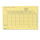 Employee Time Report Card, Weekly, 6 x 4, 100/Pack TOP3017