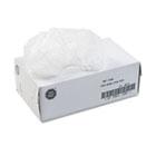 Disposable Beard Net, Spun-Bonded Polypropylene, White, 100/Pack UFS7388