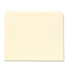 File Folders, Straight Cut, One-Ply Top Tab, Letter, Manila, 100/Box UNV12110