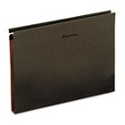 Box Bottom Hanging Folders, One Inch, Letter Size, Pressboard, Standard Green, 25/Box UNV14141