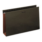 Box Bottom Hanging Folders, Three Inch, Legal Size, Pressboard, Standard Green, 25/Box UNV14153