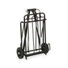 Luggage Cart, 250lb Capacity, 15 x 14 Platform, Black/Chrome IVR14301