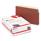 1 3/4 Inch Expansion File Pockets, Straight Tab, Legal, Redrope/Manila, 25/Box UNV15242