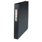 "D-Ring Binder, 1"" Capacity, 8-1/2 x 11, Black UNV20761"