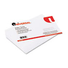 Ruled Index Cards, 5 x 8, White, 100/Pack UNV47250