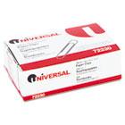 Nonskid Paper Clips, Wire, No. 1, Silver, 100/Box UNV72230BX