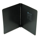"Pressboard Report Cover, Prong Clip, Letter, 3"" Capacity, Black UNV80571"