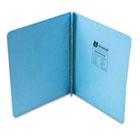 "Pressboard Report Cover, Prong Clip, Letter, 3"" Capacity, Light Blue UNV80572"
