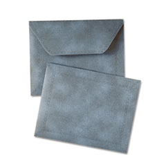 Document Carrier, Two Inch Expansion, Letter, Blue, 1/ea QUA89202