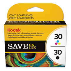 2880674 Color Combo (30) Ink, Black; Tri-Color, 2/PK KOD8781098