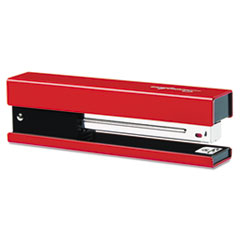 Full Strip Fashion Staplers, 20-Sheet Capacity, Red/Black SWI87831