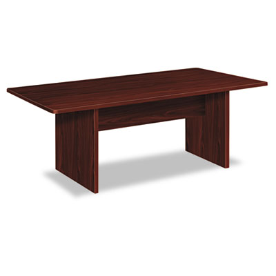Bl laminate series rectangular conference table, 72w x 36d x 29 1/2h, mahogany, sold as 1 each