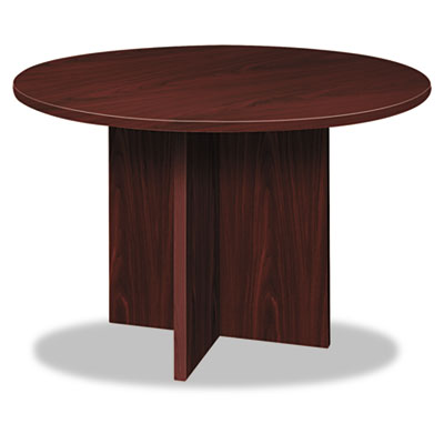 Bl laminate series round conference table, 48 dia. x 29 1/2h, mahogany, sold as 1 each