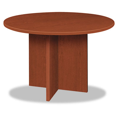 Bl laminate series round conference table, 48 dia. x 29 1/2h, medium cherry, sold as 1 each