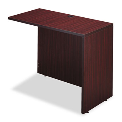 Valencia series reversible return/bridge shell, 42w x 23 5/8d. mahogany, sold as 1 each