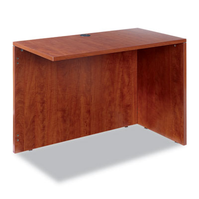 Valencia series reversible return/bridge shell, 42w x 23 5/8d, medium cherry, sold as 1 each