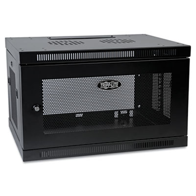 Smartrack 6u wall mount rack enclosure cabinet, sold as 1 each