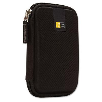 Portable hard drive case, molded eva, black, sold as 1 each